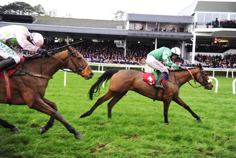 GOWRAN PARK THURSDAY: Invitation Only stroms home