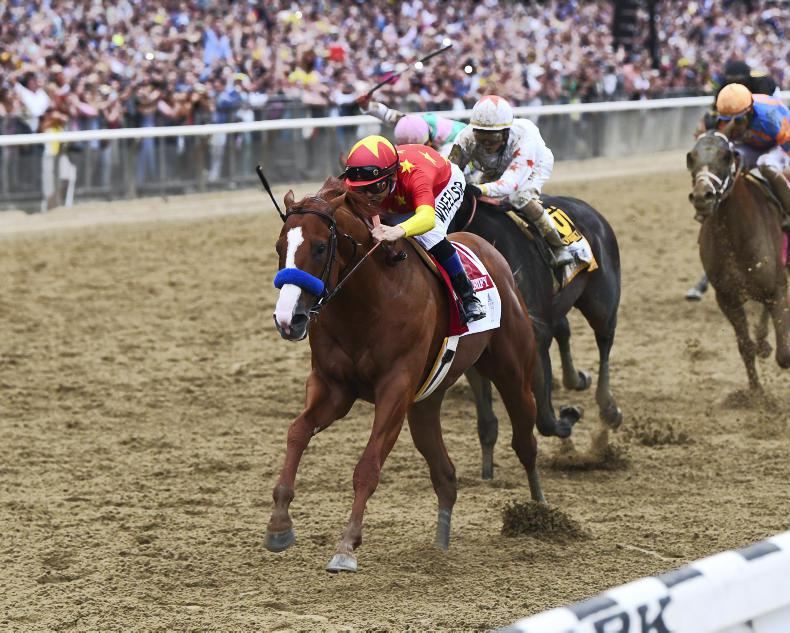 AMERICAN: Justify is Horse of the Year
