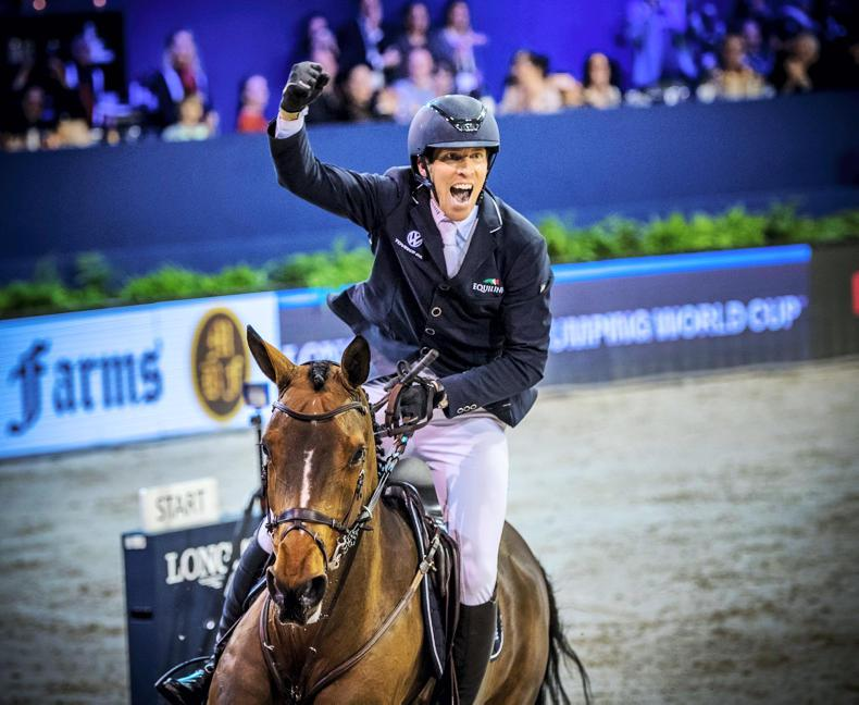 SHOW JUMPING:  World Cup leg win for Von Eckermann
