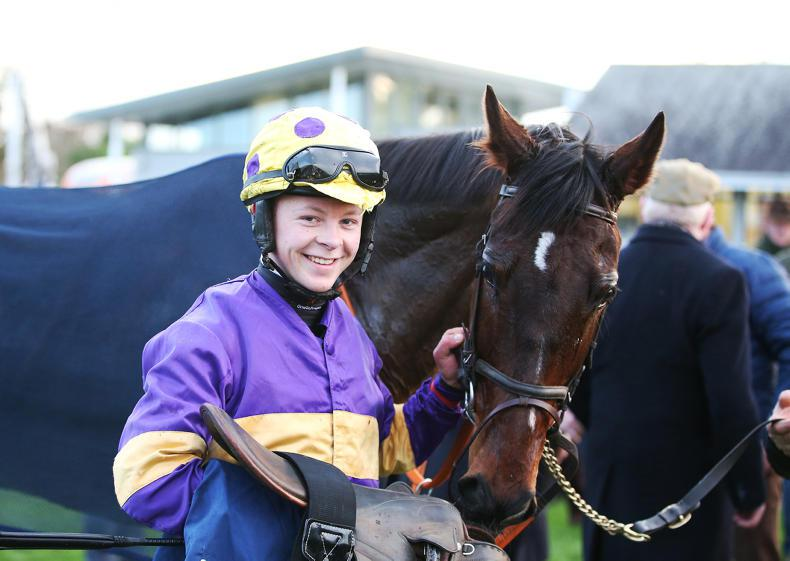 PONY TALES:  First racecourse success for Browne