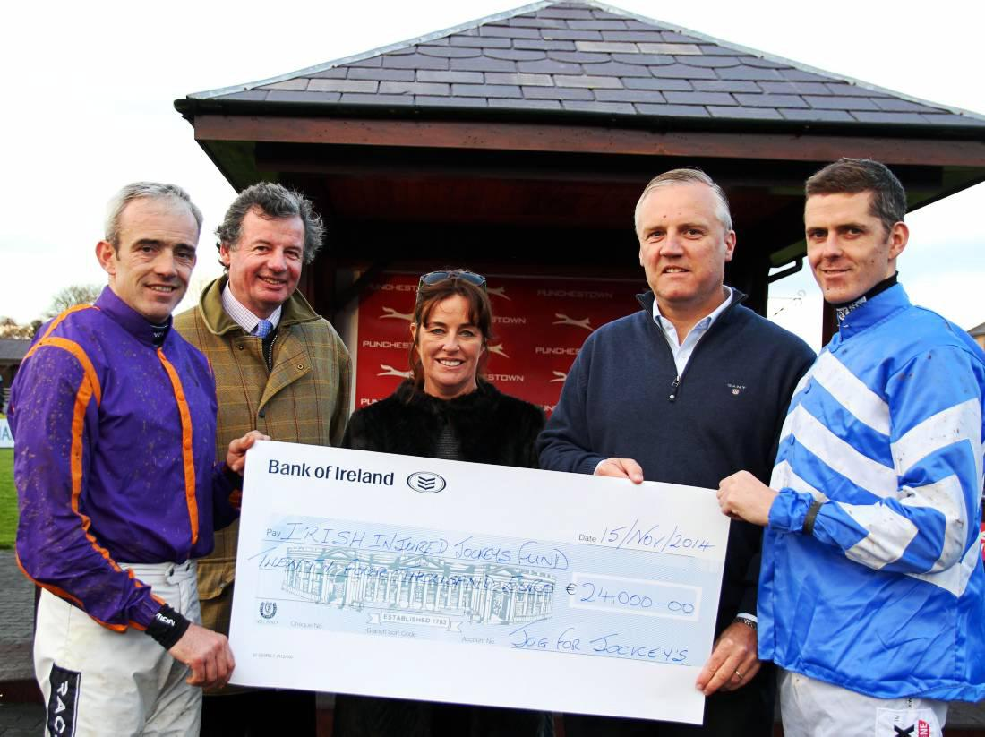 Terriffic fund raising for injured jockeys