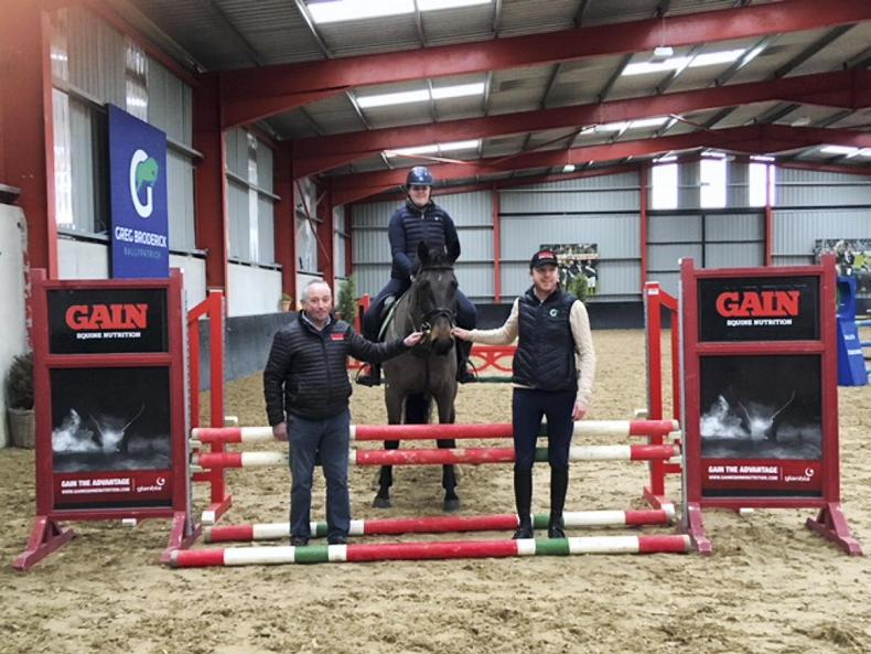 PONY TALES:  Greg gives top tips to competition winner