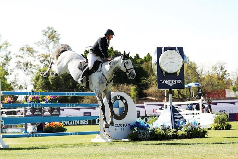 SHOW JUMPING:  Jordan Coyle lands his biggest career win
