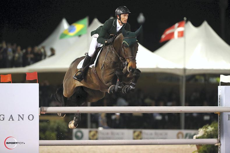 SHOW JUMPING:  Richie Moloney close in $391,000 Grand Prix