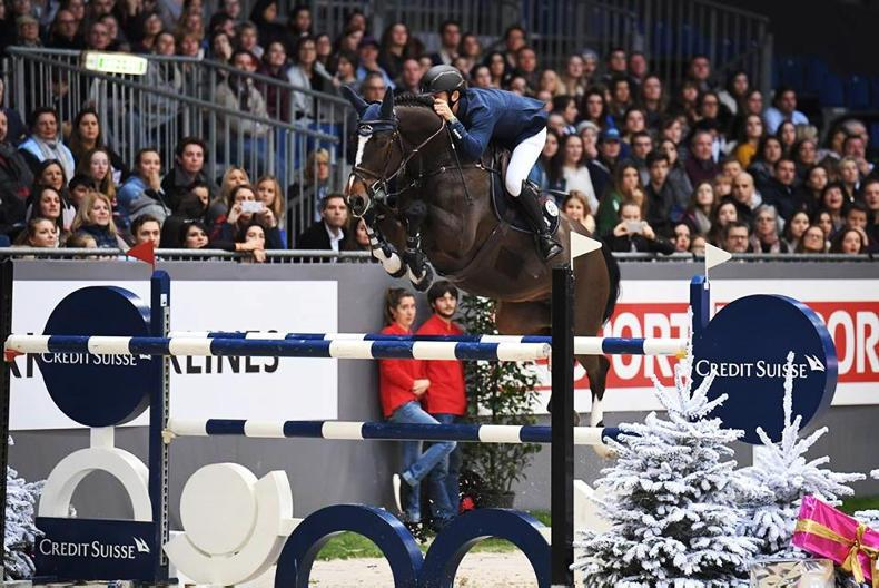 SHOW JUMPING:  Allen just edged in Grand Prix at Bordeaux
