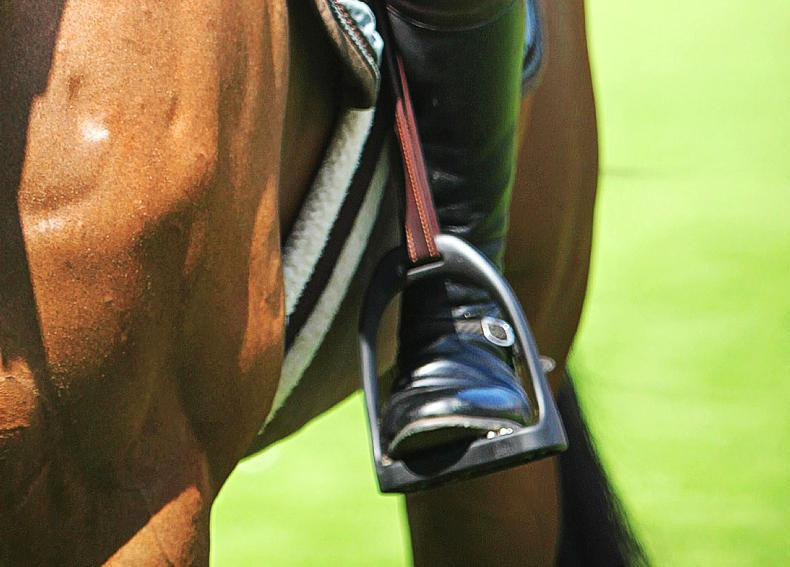 AROUND THE COUNTRY:  Dressage riders give it their all at final