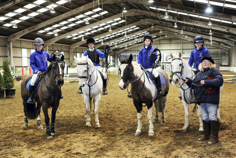 AROUND THE COUNTRY:  Riders vye for ribbons at final