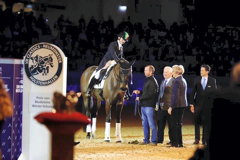 DRESSAGE:  Reynolds takes another World Cup podium placing