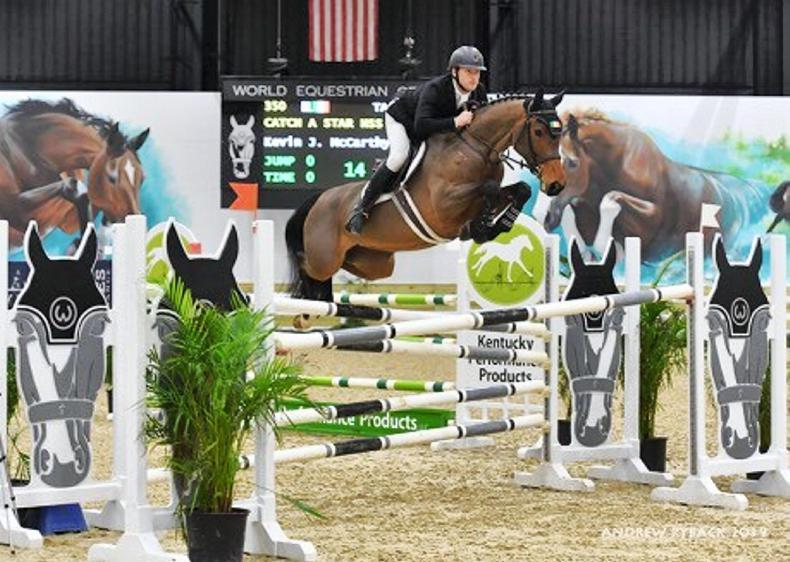 SHOW JUMPING:  $25,000 Grand Prix win for McCarthy