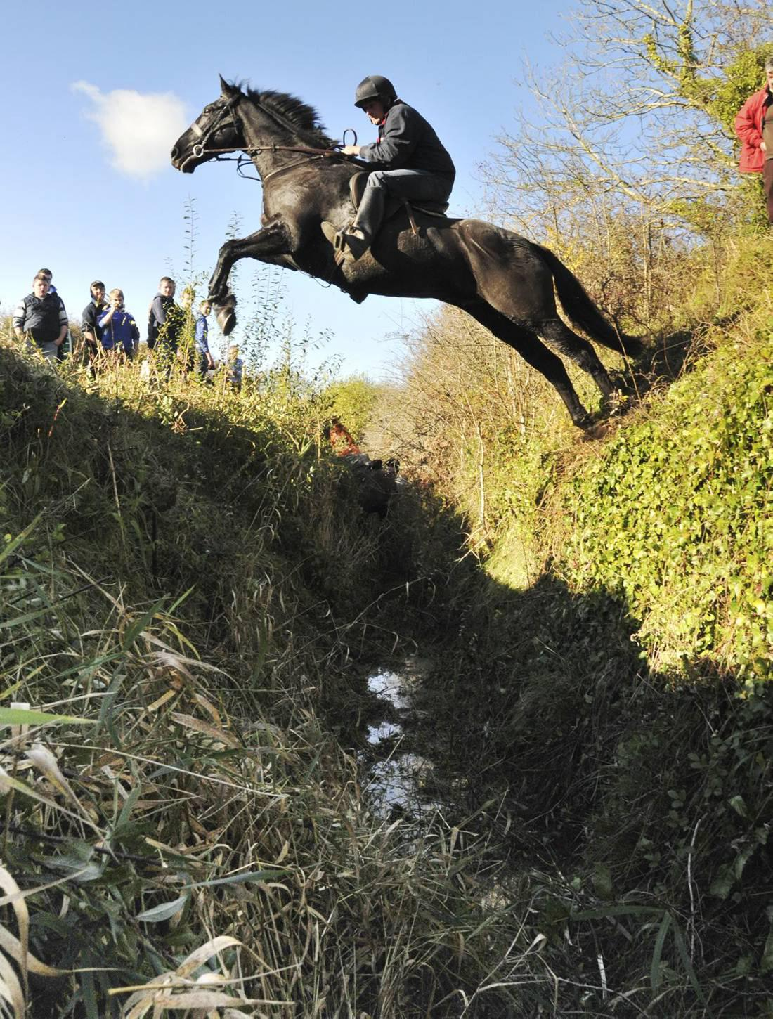Hunting and cross-country schooling up for grabs