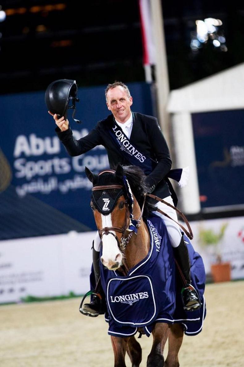SHOW JUMPING: Breen storms to victory in Grand Prix