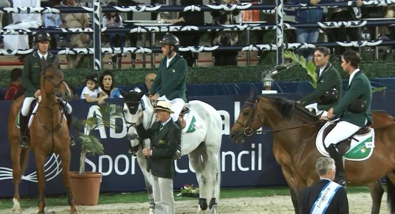 Irish Show Jumping team runners-up in Abu Dhabi Longines FEI Nations Cup