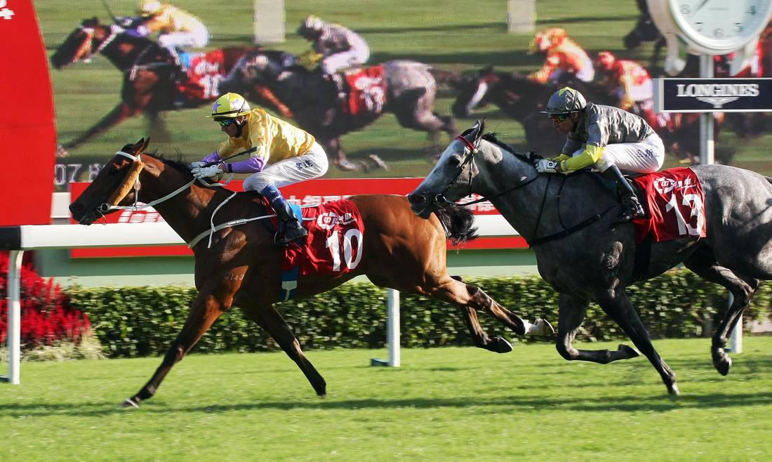 HONG KONG: Peniaphobia sizzles in sprint