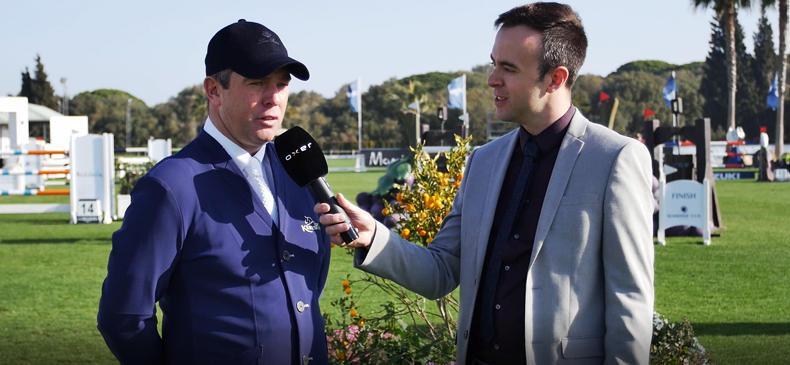 VIDEO: Cian O'Connor interview