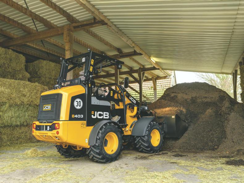 MACHINERY FEATURE 2019: JCB compact 403 loader