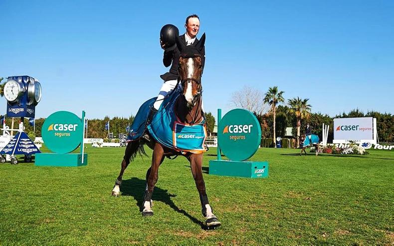 SHOW JUMPING:  Peter Moloney wins Grand Prix at Vejer