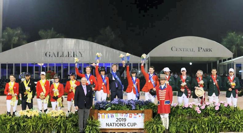 SHOW JUMPING: Irish team just edged in USA Nations Cup