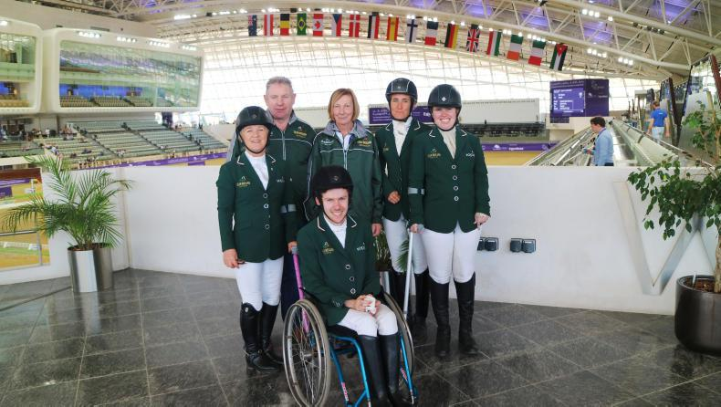 NEWS:  Para dressage riders' flying the flag in Doha