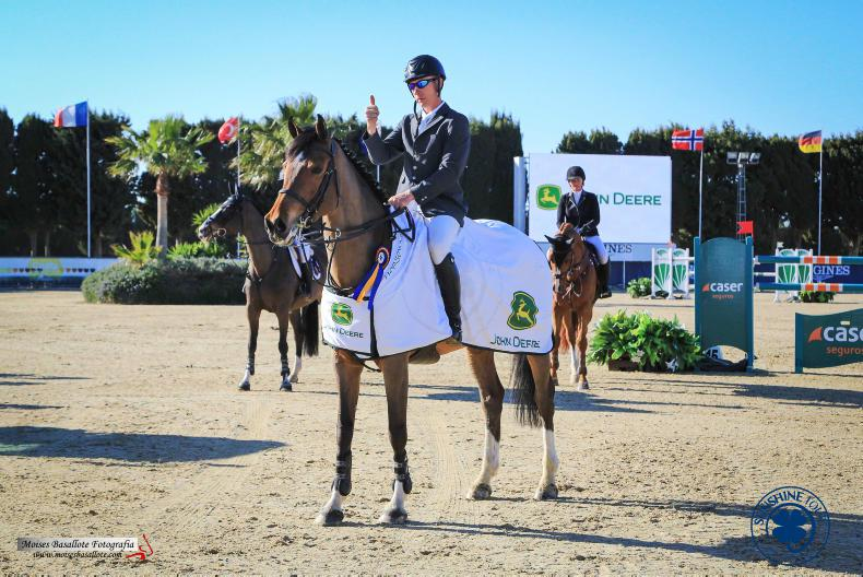 SHOW JUMPING:  Lennon shines with MJM Pursuit