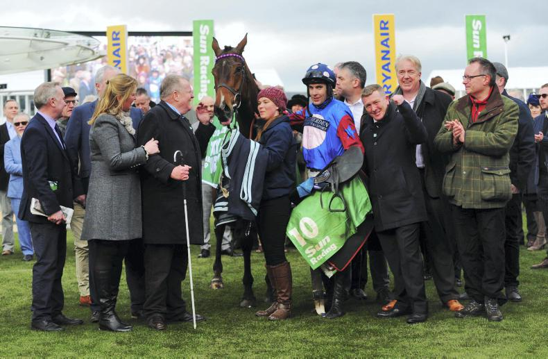 Paisley Park hits the right note in Stayers' Hurdle