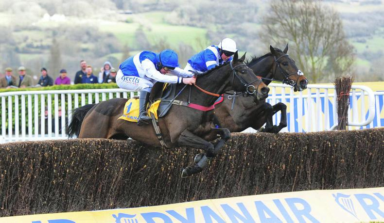 CHELTENHAM THURSDAY: Superb chasing by Frodon and Frost