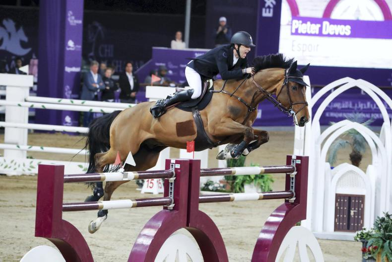 INTERNATIONAL: Devos best in Doha show down