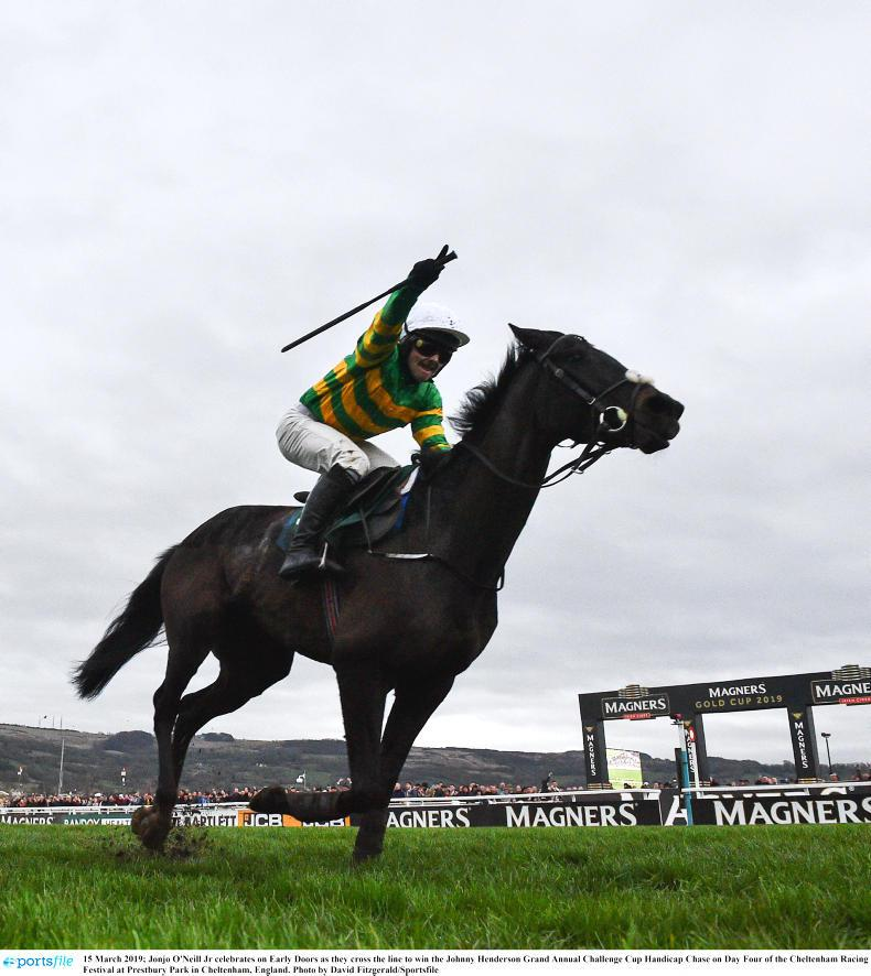 CHELTENHAM FRIDAY: McManus finishes on high with Early Doors