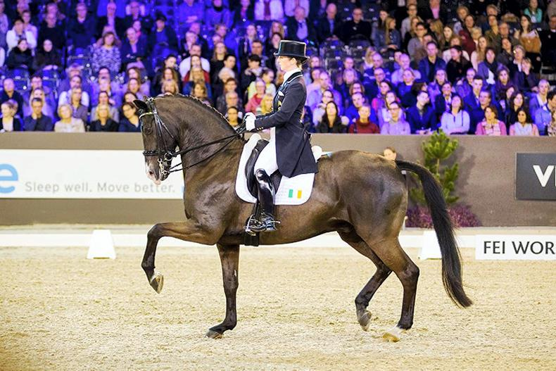 DRESSAGE:   Reynolds books her place in World Cup final