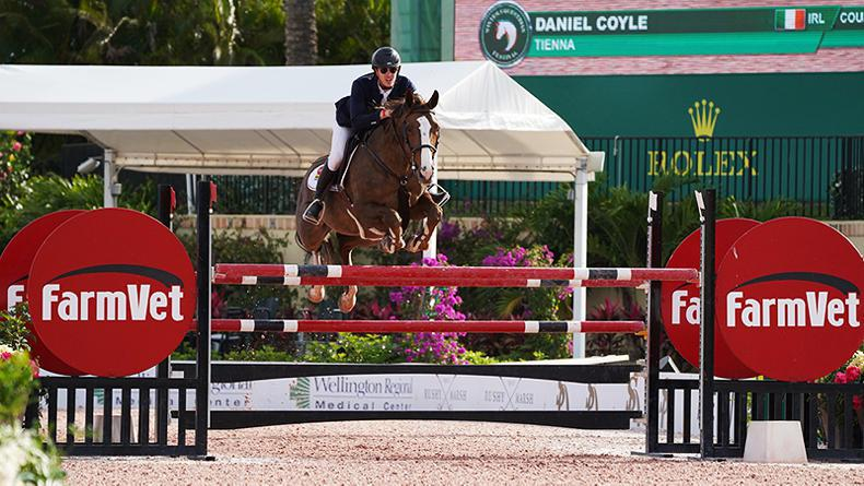 INTERNATIONAL: Three-star win for Coyle at WEF