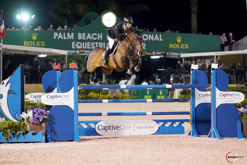 SHOW JUMPING:  MHS Attraction (ISH) wins $134,000 Final at WEF