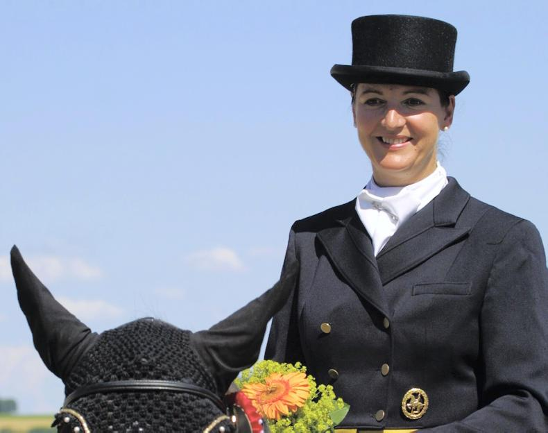 DRESSAGE:  Podium place for Merveldt in Italy
