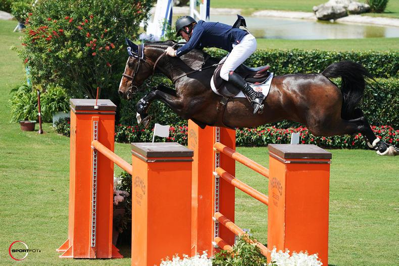 SHOW JUMPING:  Daniel Coyle wins $50,000 Grand Prix