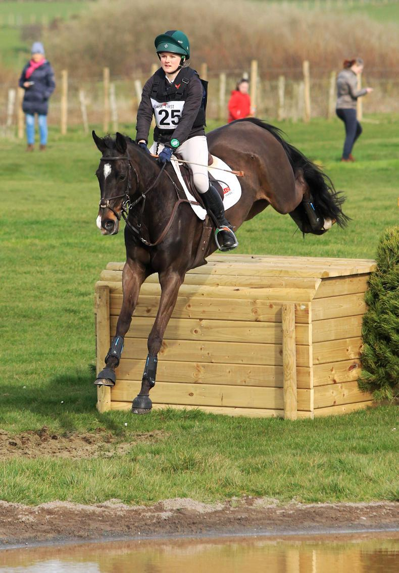 EVENTING:  Auspicious entry for underage classes