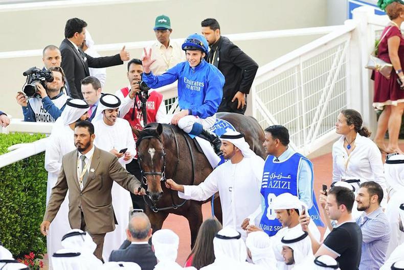 DUBAI WORLD CUP: Irish delight as Blue strikes gold
