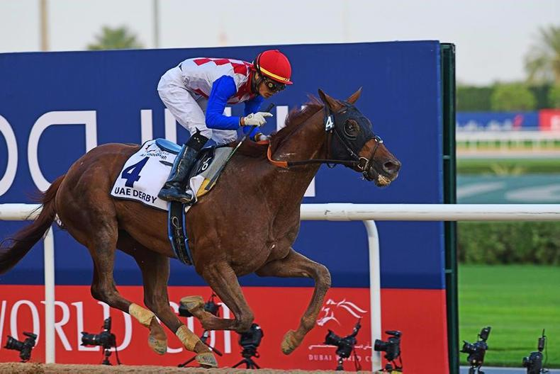 DUBAI WORLD CUP: Universal success for the perfect Derby winner