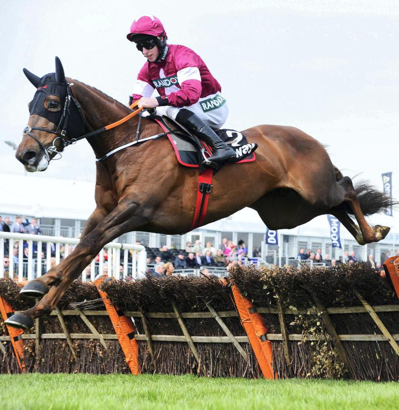 AINTREE FRIDAY: Felix Desjy in total control