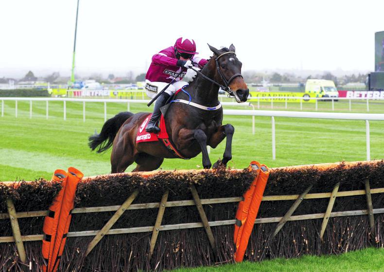 AINTREE SATURDAY: Brewin'upastorm is an exciting prospect