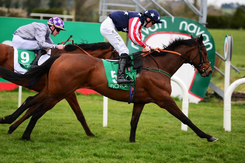 NAVAN SATURDAY: Sergei storms home