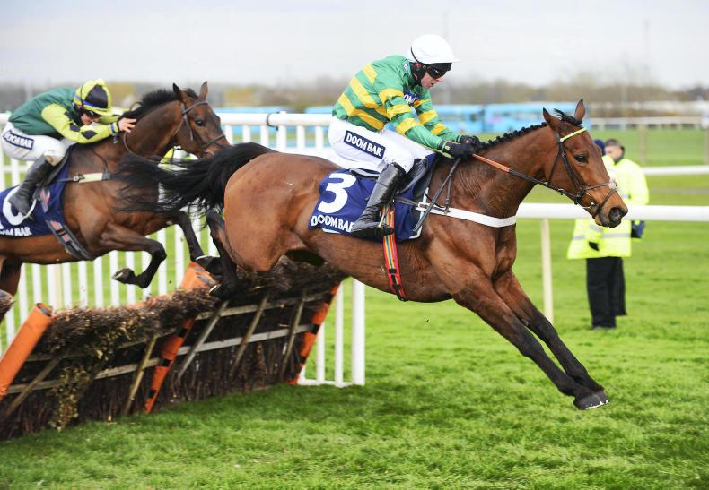AINTREE FRIDAY: Champ a star in the making