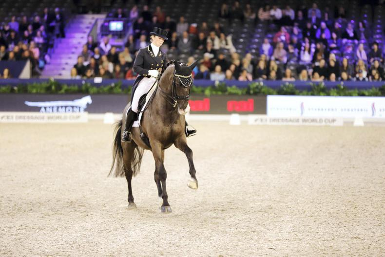 Judy Reynolds and Vancouver K finish 11th at FEI Dressage World Cup Finals