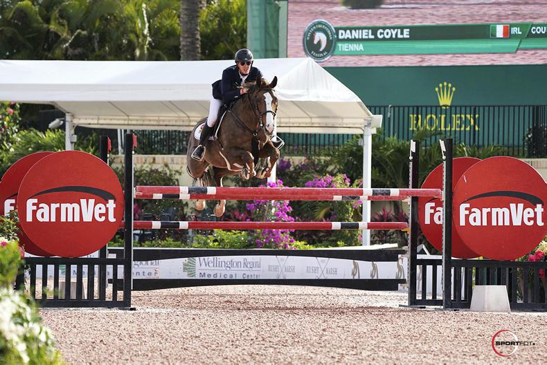 SHOW JUMPING:  Coyle wins $36,000 Classic at WEF