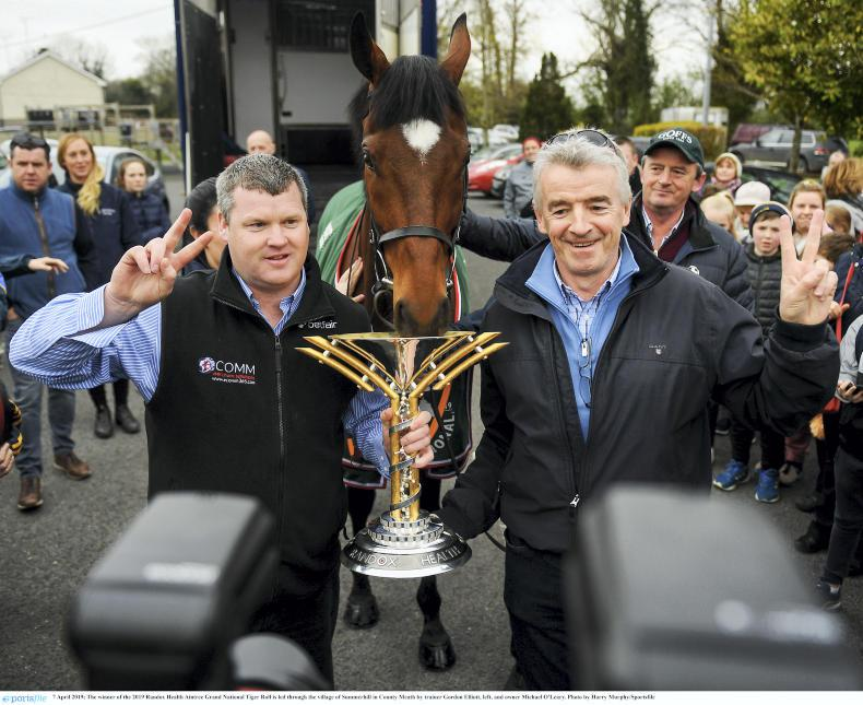 GRAND NATIONAL: Happy homecoming for Tiger the hero