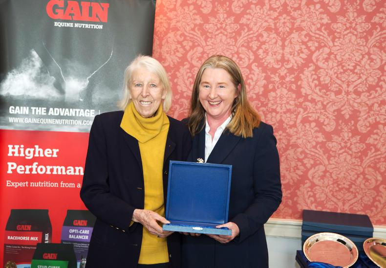 Isabel Hurley scoops top 'Media Award' at Irish Sport Horse Industry Awards