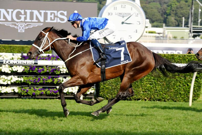 AUSTRALIA: Winx and she's gone