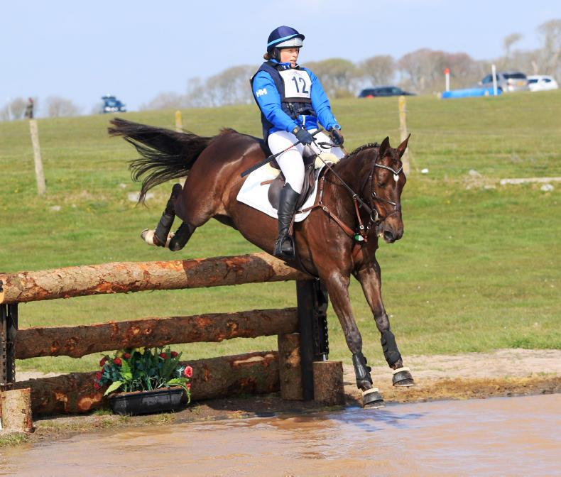 EVENTING:  Dee Mac delivers for Ennis