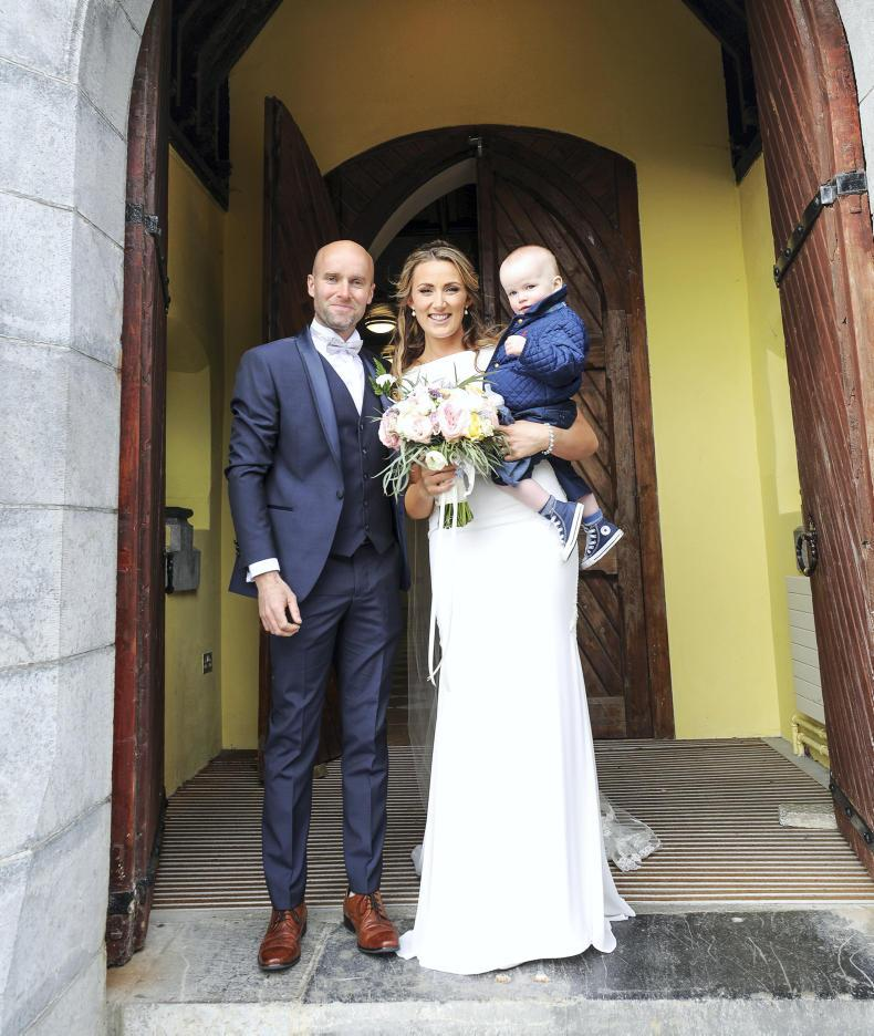 PONY TALES:  Wedding bells for Ruth and James!