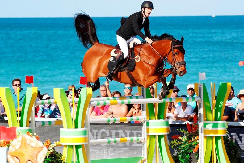 SHOW JUMPING:  Devos takes Miami crown