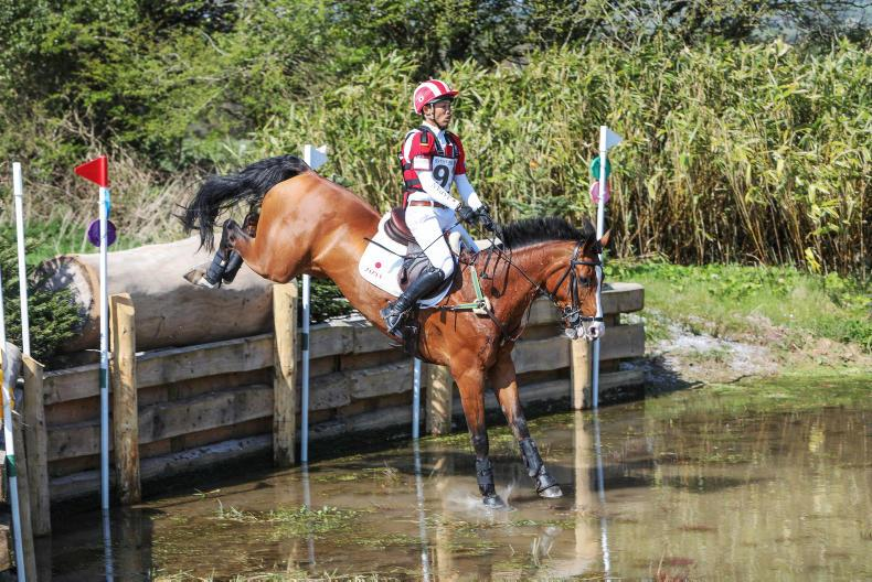 BALLINDENISK INTERNATIONAL: Tomoto in the driving seat