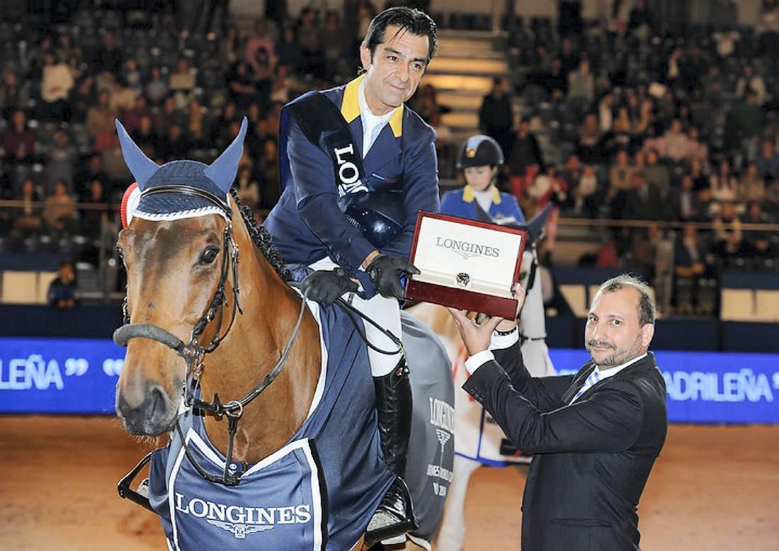 Lopez wins Longines leg in Madrid