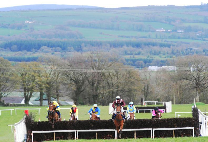 POINT-TO-POINT: Eogháin Ward: A valuable prize on offer at Dromahane